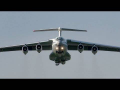 Russian Air Force Ilyushin IL-76MD takeoff at Graz Airport | RA-78818