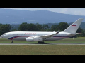 Rossiya Special Flight Squadron Ilyushin IL-96 takeoff at Graz Airport | RA-9601