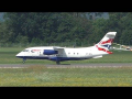Sun Air of Scandinavia Dornier 328JET takeoff at Graz Airport | OY-NCL