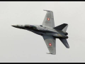 Swiss F/A-18C Hornet Full Throttle Airshow 2014