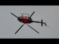 THE FLYING BULLS *Blacky Schwarz* BO105 C display | 50 years Alouette Airfest LO