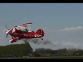 Low pass Aerobatics Pitts S2B Special PH-PEP Teuge Airport