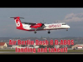 Air Berlin *brand new* Dash 8 landing