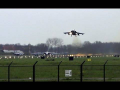 RAF Tornado aborted, Wingman close call Take off