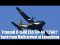 Transall C-160D ESS comes back from Mali to Home Air Base