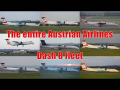 The entire Austrian Airlines Dash 8 fleet