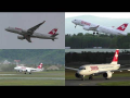 PILOT TRAINING Swiss CS100 takeoffs, go-arounds and touch