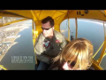 Across Fire Island in a Piper Cub