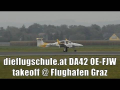 dieflugschule.at DA42NG Twin Star rejected takeoff