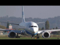 Enter Air Boeing 737 takeoff at Graz Airport | SP-ENZ