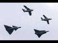 SAAB Formation Viggen Draken, Tunnan, SK 60 and Gripen