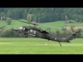 Austrian Air Force Black Hawk display | 50 years Alouette Airfest LOXA