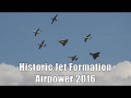 Airpower 2016 | Austrian Air Force Historic Jet Formation