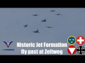 Historic Jet Formation AIRPOWER 2016