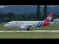 Yamal Airlines Sukhoi Superjet 100 takeoff at Graz Airport | RA-89070