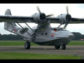 FLYING BOAT Catalina PH-PBY Touch and Go Lelystad Airport