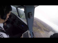 Edinburgh Airport (EDI/EGPH) Landing Cockpit View A320