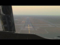 Boeing 737-200 Cockpit Landing Video HD