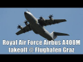 Royal Air Force Airbus A400M engine start