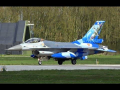 Belgian F-16 Go-around after Birdhit Frisian Flag 2016