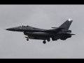 6x F-16 Backtrack Landing – BASEX2015