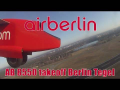 Air Berlin Dash 8 AB 8550 Berlin Tegel – Graz | takeoff Flughafen Berlin Tegel