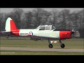 RAF Chipmunk DHC1 T.10 1950 Teuge Airport 6-3-2013 – HD video