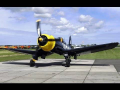 Awesome TFC Corsair FG-1D (G-FGID) DEMO – Oostwold Airshow 2015