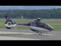 The Flying Bulls Eurocopter EC 135T2 takeoff at Graz Airport | OE-XFB