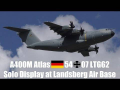 Airbus A400M Atlas German Air Force 54 07 Solo Display