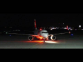 Swiss Airbus 319 landing at Graz Airport | HB-IPX