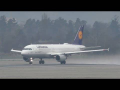Lufthansa Airbus 320 takeoff at Graz Airport | D-AIZB