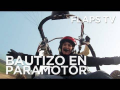 first time in paramotor