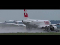 *WATERSPRAY* Swiss CS100 close-up takeoff at Graz Airport | HB-JBE