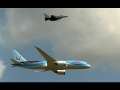 Boeing 787-8 DREAMLINER QRA interception Flypass