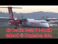 Air Berlin Dash 8 D-ABQK close-up takeoff at Graz Airport