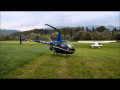 Airchallenge Styria 2013 | Takeoff 1 OE-XPX R22 Beta II