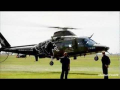 BAF Agusta A109 BA H-24 with flares Texel Airshow – HD video