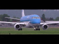*WATERSPRAY* KLM Cityhopper Embraer 175 takeoff at Graz Airport | PH-EXK
