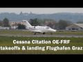 Cessna Citation takeoffs