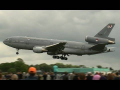 LOW PASS KDC-10 Cougar Chinook FIIRE BUCKET OPERATIONS