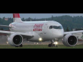 Swiss CS100 close-up takeoff at Graz Airport | HB-JBG