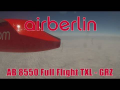Air Berlin Dash 8 AB 8550 Berlin Tegel – Graz | Full Flight