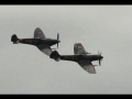 Awesome sound of Spitfire Merlins Oostwold Airshow 2013