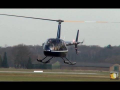 R-44 Raven II heli's at Teuge Airport 6-3-2013 – HD video