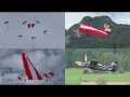 Red Bull Skydive team and Pilatus PC-6 fly-by | 50 years Alouette Airfest LOXA