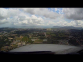 Cannes Mandelieu Airport – Crosswind Landing (Cockpit View)