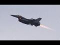 6x F-16 Long AFTERBUNER Take Off – BASEX2015 EHLW