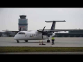 InterSky Dash 8 engine start and taxiing | OE-LIC