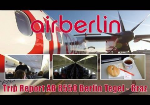 TRIP REPORT | Air Berlin AB8550 Berlin Tegel – Graz onboard Dash 8